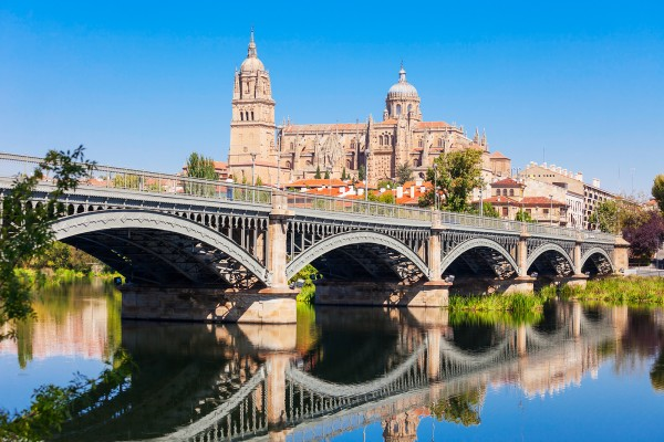 Salamanca Cathedral is a late Gothic and Baroque catedral in Salamanca city, Castile and Leon in Spain